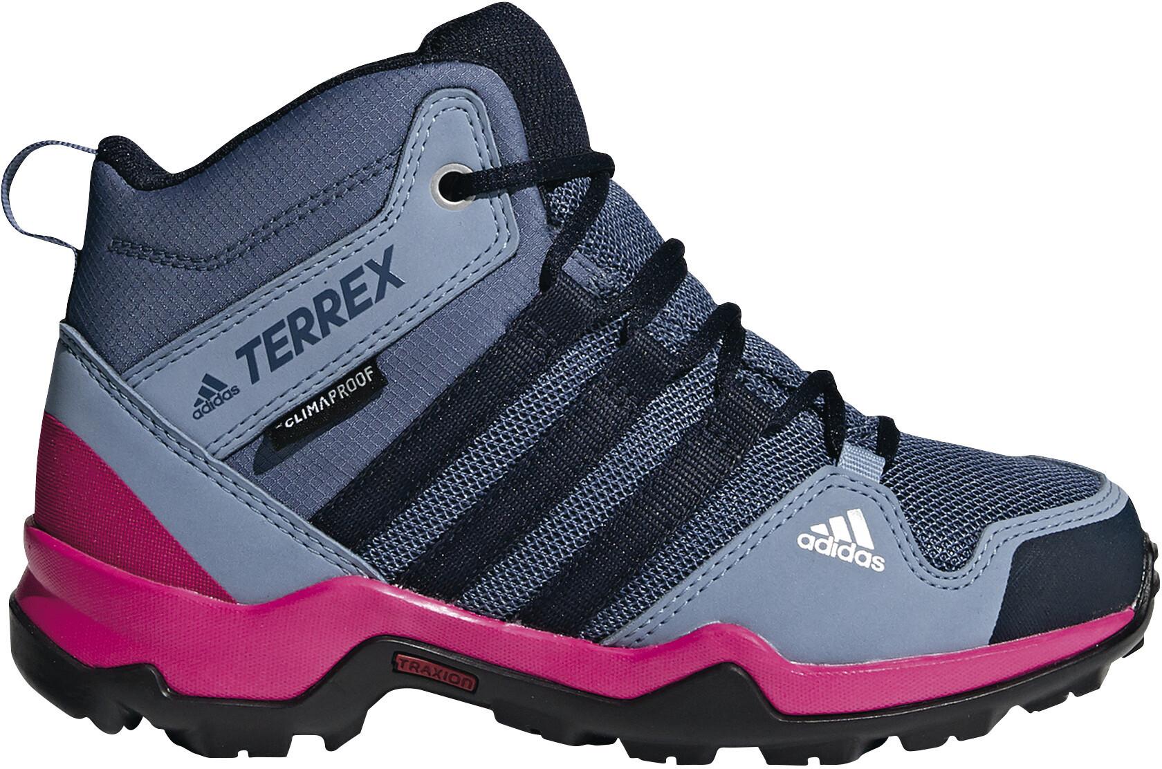 save off 460e3 2bd4e adidas TERREX AX2R ClimaProof Scarpe Bambino grigio rosa